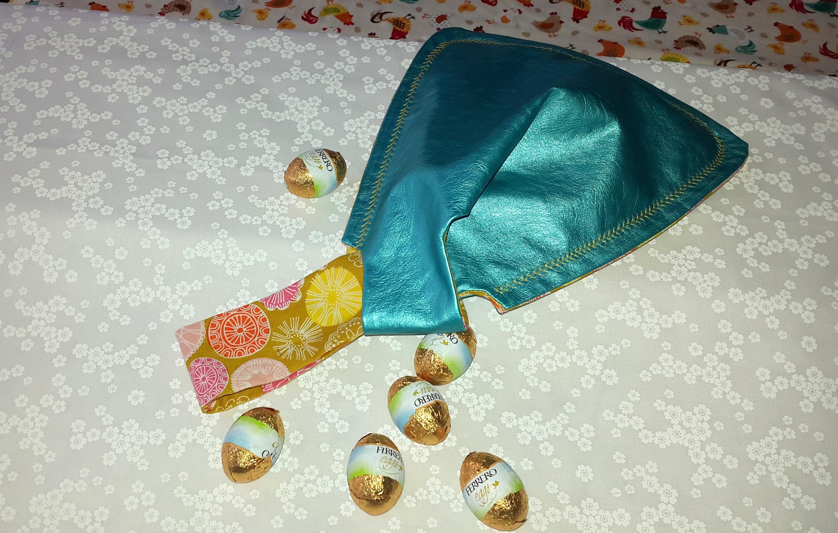 Tutoriel couture : pochette Triangle