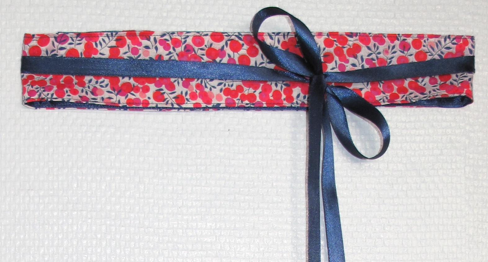 0d958c1b7c5 Tutoriel couture   ceinture à nouer - Brodeuses et Couturières